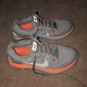Nike grey running shoes
